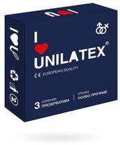Презервативы Unilatex - Extra Strong ультрапрочные, 3 шт. - Unilatex