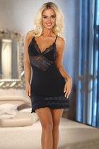 Пикантная сорочка Petra с кружевными вставками, L-XL - Beauty Night