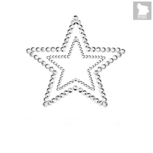 Bijoux Украшение на грудь Mimi Star - Silver, цвет серебряный - Bijoux Indiscrets