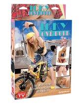 Надувная секс-кукла Icky Love Doll, цвет телесный - Pipedream