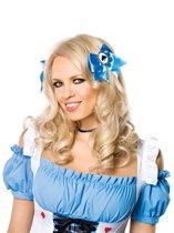 Заколка для волос со знаком пики, цвет голубой - Leg Avenue