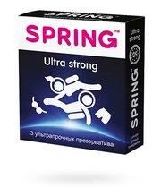 Презервативы Spring Ultra Strong ультрапрочные, 3 шт. - Spring