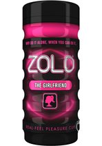 Мастурбатор ZOLO THE GIRLFRIEND CUP, цвет розовый - Zolo
