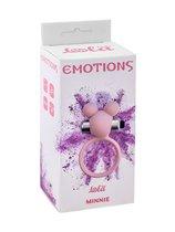 Розовое эрекционное виброколечко Emotions Minnie Light pink, цвет розовый - Lola Toys