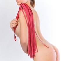 Плеть Sitabella №6, цвет красный - Sitabella