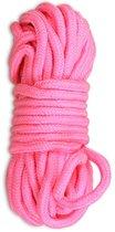 Розовая верёвка для любовных игр - 10 м, цвет розовый - LoveToy