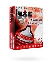 Презервативы Luxe Exclusive Красный камикадзе, 1 шт. - LUXLITE