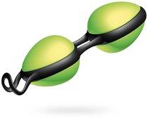 Вагинальные шарики Joyballs secret Schwarz-Schwarz, цвет зеленый - Joy Division