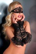 маска Mask Black Model 5, цвет черный, размер OS - Livia Corsetti