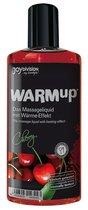 Разогревающее масло WARMup Cherry - 150 мл - Joy Division