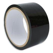 Липкая лента для связывания чёрного цвета, цвет черный - Пикантные штучки