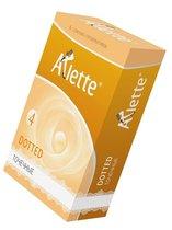 Презервативы Arlette Dotted с точечной текстурой - 6 шт. - Arlette