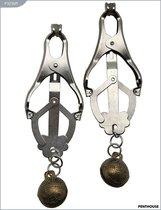 Зажимы для сосков, со звенящим шариком, 45 г, P3236M - Penthouse