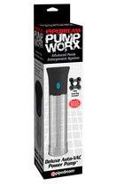 Вакуумная помпа с автоматическим насосом Pump Worx Deluxe Auto-Vac Pump, цвет прозрачный - Pipedream