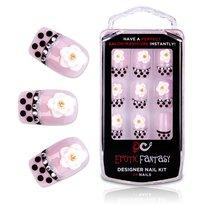 Типсы для ногтей из акрила Black Dots Crystal, цвет розовый - Erotic Fantasy