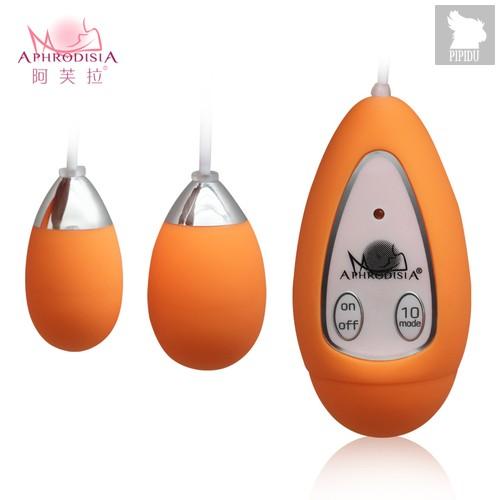 Виброяичко Xtreme-10F Egg (D) orange 11603orangeHW, цвет оранжевый - Aphrodisia