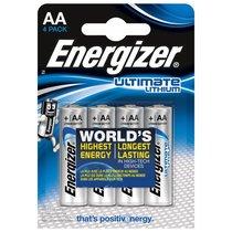 Батарейки Energizer Ultimate Lithium L91 AA - 4 шт. - Energizer