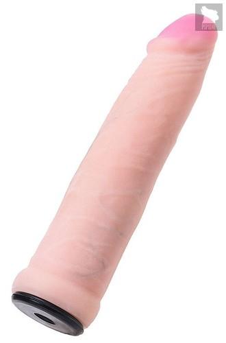 Телесная насадка для страпона Ryder - 17,9 см., цвет телесный - Toyfa