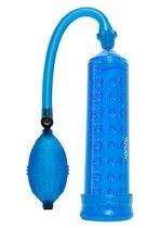 Синяя вакуумная помпа POWER MASSAGE PUMP - Toy Joy