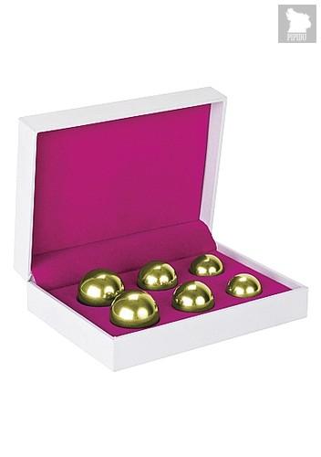 Вагинальные шарики Ben Wa Balls Set Gold SH-SHT152 - HOT
