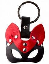 Черно-красный сувенир-брелок «Кошка», цвет красный/черный - Подиум