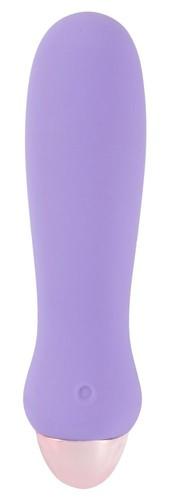 Сиреневый мини-вибратор Cuties Mini - 12,5 см., цвет сиреневый - ORION