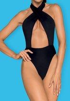 Слитный женский купальник Acantila, цвет черный, S - Obsessive