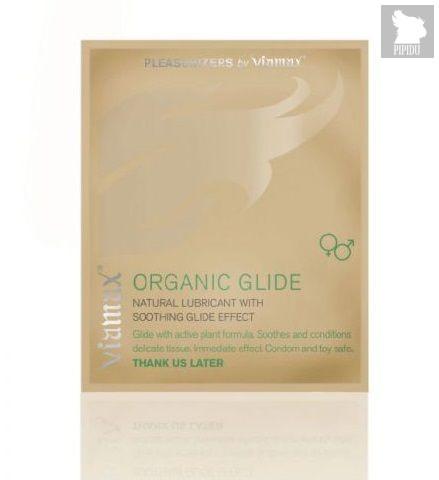 Лубрикант Organic glide на растительной основе - 2 мл. - Viamax