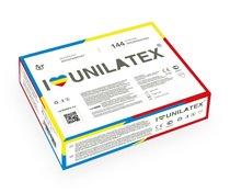 Разноцветные ароматизированные презервативы Unilatex Multifruits - 144 шт. - Unilatex