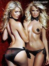 Пикантный комплект Vegas Lucky Play, цвет черный, S-M - Insinuate