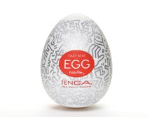 Мастурбатор-яйцо Keith Haring EGG PARTY - Tenga