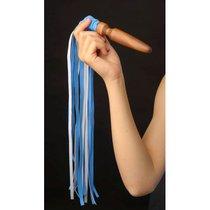 """Плеть """"Комета"""" из искусственной кожи, цвет голубой - Sitabella"""