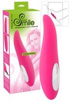 Smile Клиторальный вибратор Shaking Tonque, цвет розовый - ORION