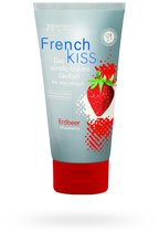 Съедобный лубрикант Frenchkiss с ароматом клубники - 75 мл