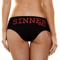 Трусики Hustler Sinner, цвет черный, S-M - Hustler Lingerie