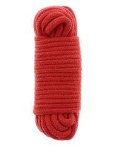 Красная веревка для связывания BONDX LOVE ROPE - 10 м., цвет красный - Dream toys