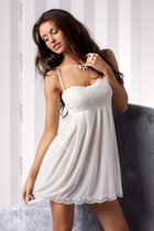 Сорочка Nicolette, цвет экрю, L-XL - Casmir
