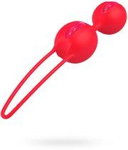 Вагинальные шарики Smarts Duo - Orange, цвет оранжевый - Fun factory