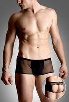 Мужские стринги с открытой попкой, цвет черный, XL - SoftLine Collection (SLC)