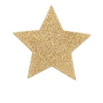 Золотистые пэстисы-звёздочки, цвет золотой - Bijoux Indiscrets