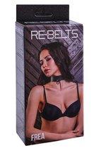 Ошейник Frea Black 7746-01rebelts, цвет черный - Rebelts
