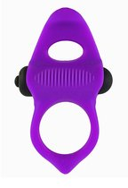 Фиолетовое эрекционное виброкольцо Lingus MAX, цвет фиолетовый - Adrien Lastic