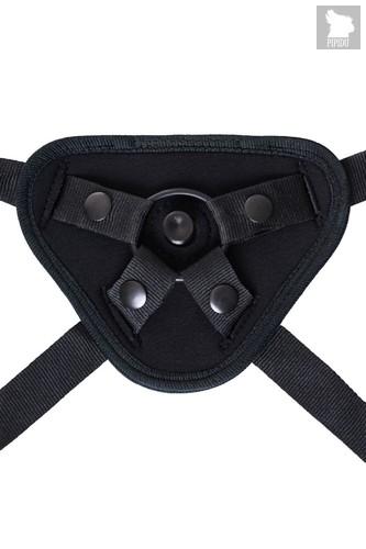 Черные трусики для страпона Master, цвет черный - Toyfa