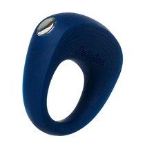 Эрекционное кольцо на пенис SATISFYER RINGS 5,5 см, цвет синий - Satisfyer
