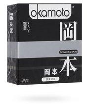 Презервативы Okamoto Skinless Skin Super ассорти, 3 шт. - Okamoto