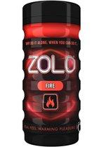 Мастурбатор ZOLO FIRE CUP, цвет красный - Zolo
