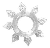 Прозрачное эрекционное кольцо Rings Gear, цвет прозрачный - Lola Toys