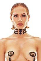 Оригинальный женский чокер Ritmo, цвет черный, L-XL - Anais