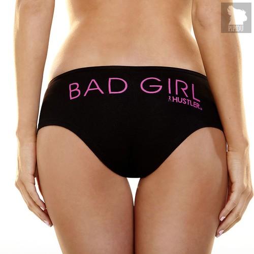 Трусики Bad Girl Hustler, цвет черный, M-L - Hustler Lingerie