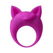 Фиолетовое эрекционное кольцо Lemur Remi, цвет фиолетовый - Lola Toys